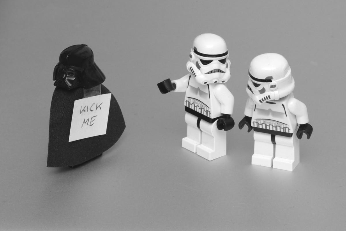 Farsă făcută lui Darth Vader