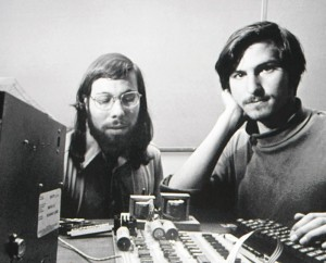 Steve Wozniak şi Steve Jobs