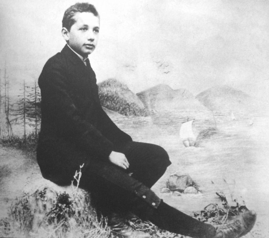 Albert Einstein la 14 ani