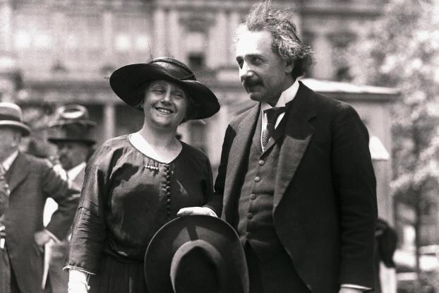 Elsa şi Albert Einstein