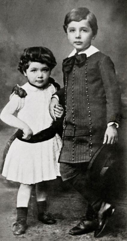 Maja şi Albert Einstein