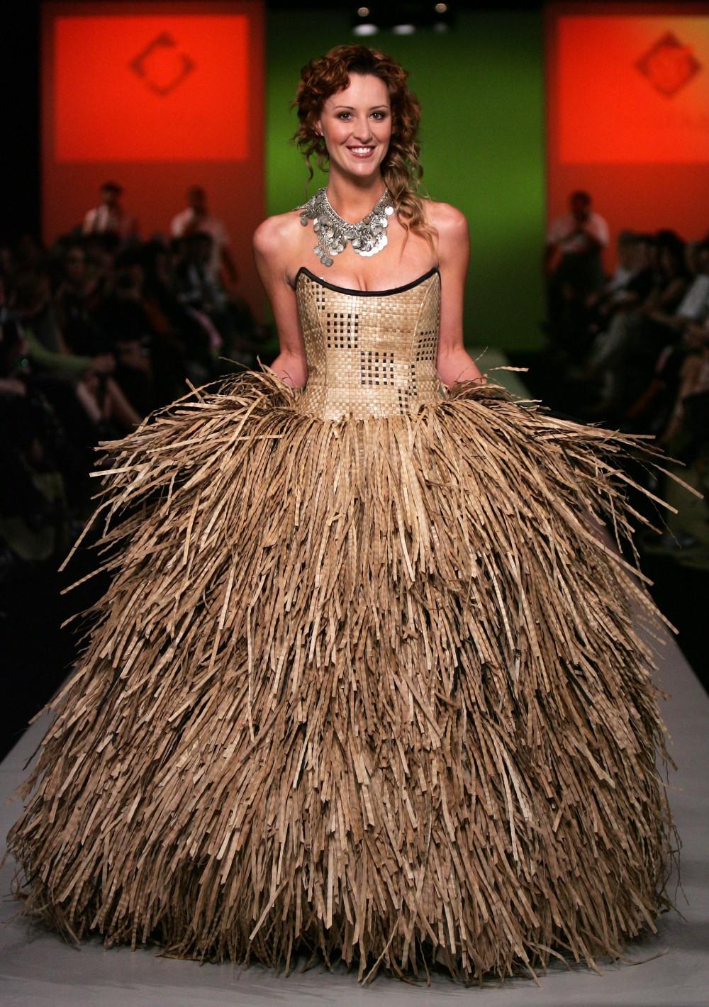 Как сделать необычное платье фото