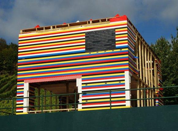 Casa din cărămizi Lego
