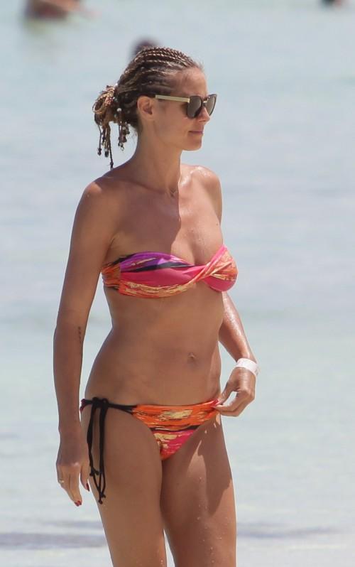 Heidi Klum în bikini