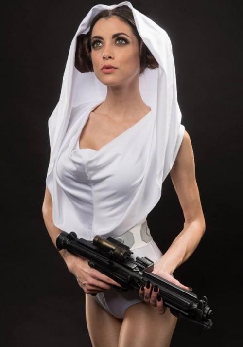 Prinţesa Leia mai atrăgătoare