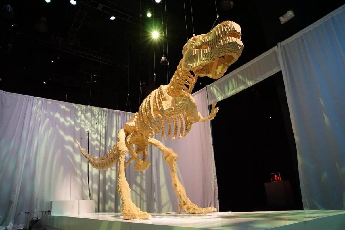 Tyrannosaurus rex de jos