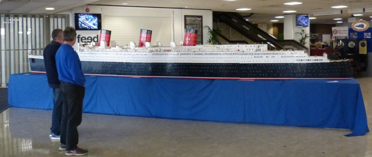 Queen Mary din Lego