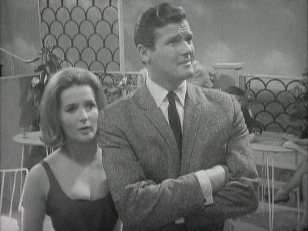 Roger Moore în 1964