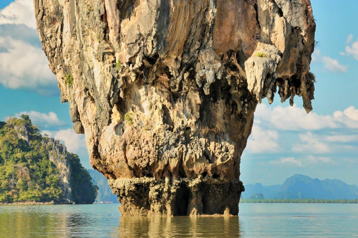 Ko Tapu la nivelul mării