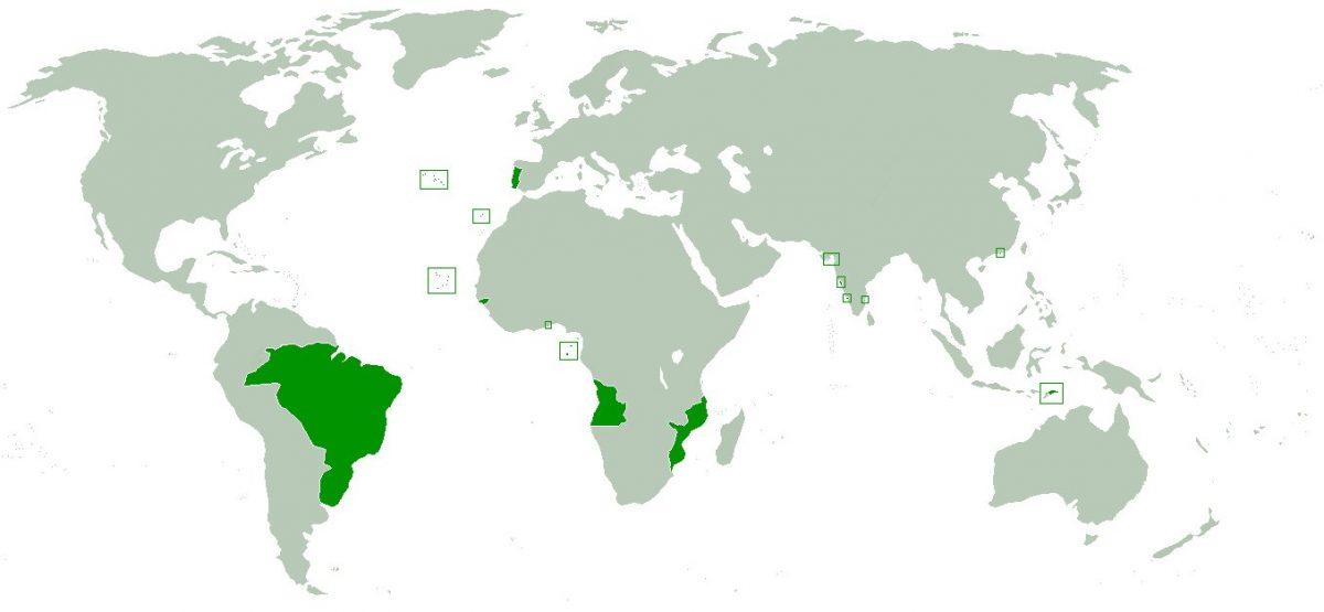 Imperiul Portughez la 1800
