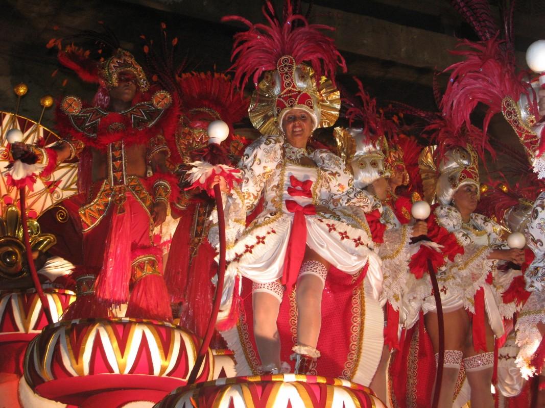 Distracţie mare la Carnavalul de la Rio