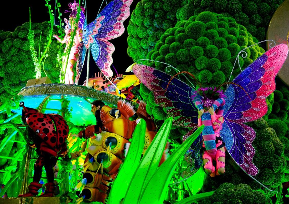 Creativitatea este la ea acasă în Carnavalul de la Rio
