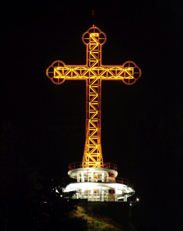 Crucea de la Mănăstirea Piatra Fântânele