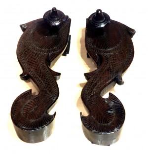 paduka în formă de peşte