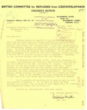 British Committee for Refugees from Czechoslovakia