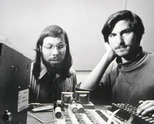 Steve Wozniak şi Steve Jobs
