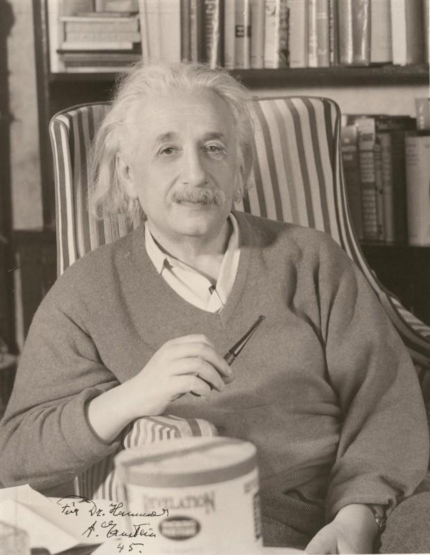 Albert Einstein - autograf