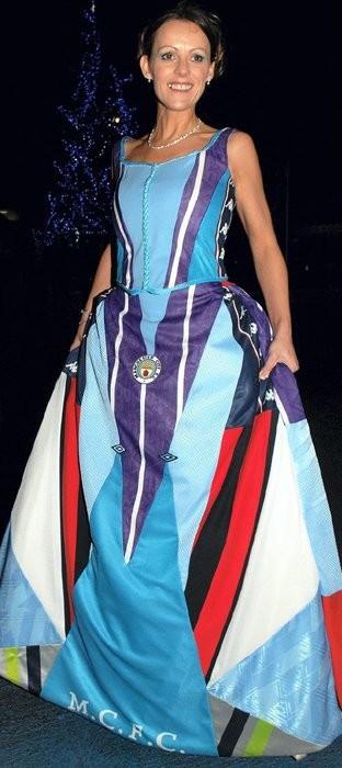 Rochia de mireasă Manchester City