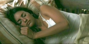 Penelope Cruz dormind