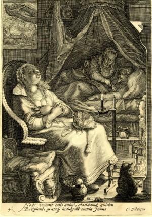 Gravură de Jan Saenredam