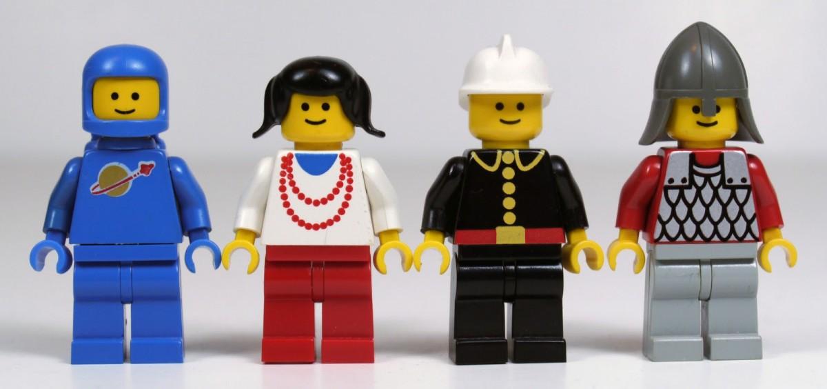 Chipul omuleţilor Lego