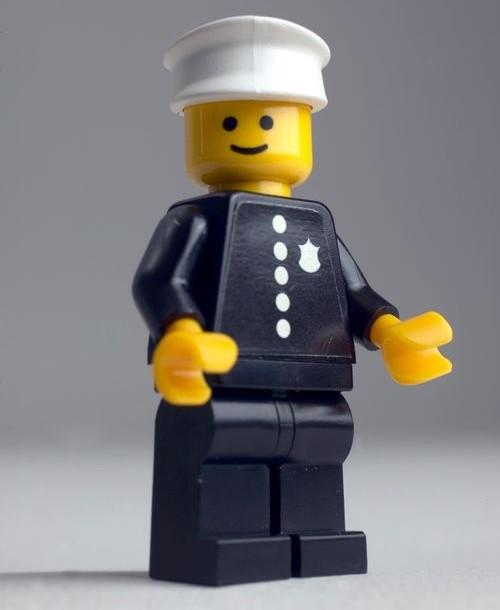 Poliţist Lego