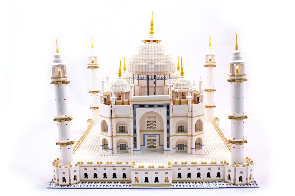 Taj Mahal din piese Lego