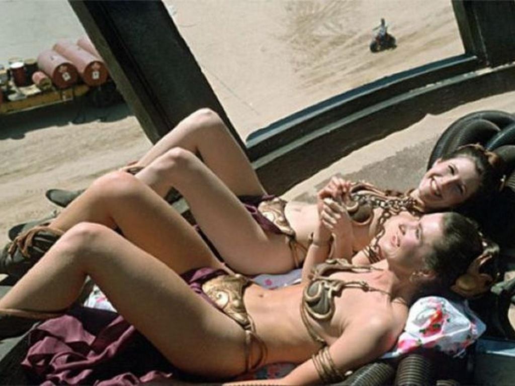 Carrie Fisher şi Tracey Eddon