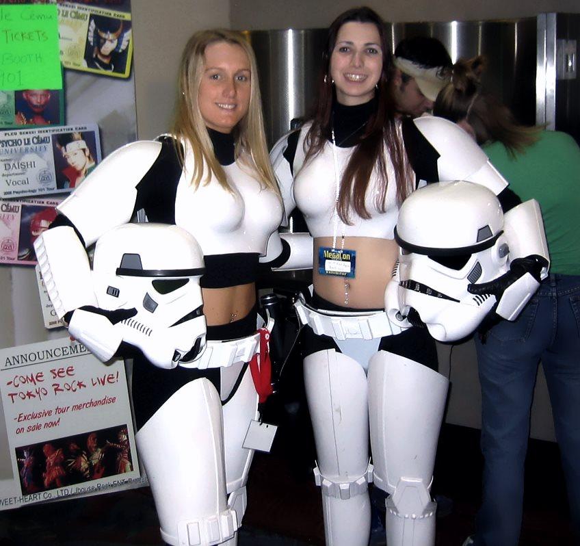 Stormtrooper în variantă feminină