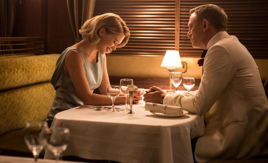 James Bond la cină